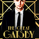 The Great Gatsby Flyer - GraphicRiver Item for Sale