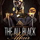 The All Black Affair Flyer - GraphicRiver Item for Sale
