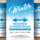 Merry Christmas Winter PSD Flyer - GraphicRiver Item for Sale