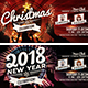 Christmas & New Year Facebook Cover Bundle - GraphicRiver Item for Sale