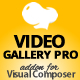 Video Gallery Pro jQuery Addon for Visual Composer