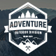 Adventure Logo and Badges - GraphicRiver Item for Sale