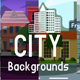 Scrolling City Backgrounds - GraphicRiver Item for Sale