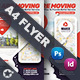 Moving Office Flyer Templates - GraphicRiver Item for Sale