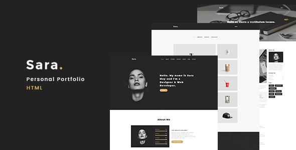 Download Sara - Personal Portfolio            nulled nulled version