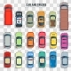Cars and Trucks Top View - GraphicRiver Item for Sale