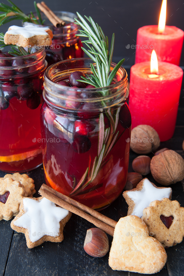 Hot mulled wine - Stock Photo - Images