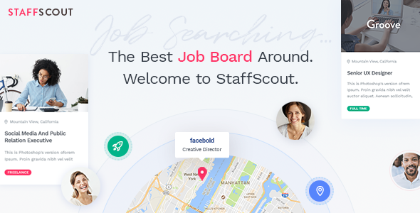 StaffScout - A Powerful Job Board Theme - Directory & Listings Corporate