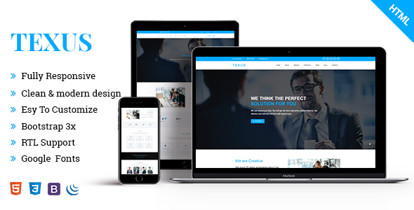 Image of Texus || Business and Corporate HTML5 Template