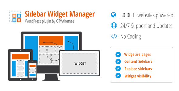 Sidebar & Widget Manager for WordPress 31