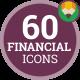 Financial Exchange Stock Market Icon Set - Flat Animated Icons