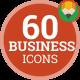 Digital Business Marketing Startup Icon Set - Flat Animated Icons