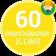 Photography Service Photo Video Device Icon Set - Flat Animated Icons