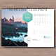 2018 Wall Calendar Landscape - GraphicRiver Item for Sale