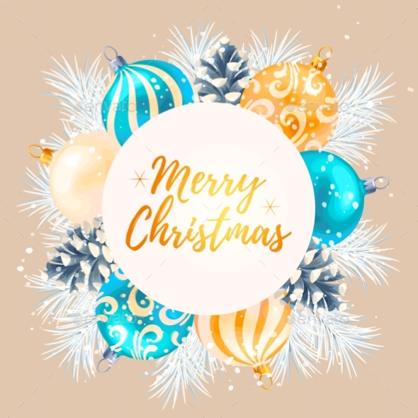 Merry Christmas Greeting Postcard - Christmas Seasons/Holidays