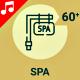 Spa Wellnes Beauty Icon Set - Line Animated Icons