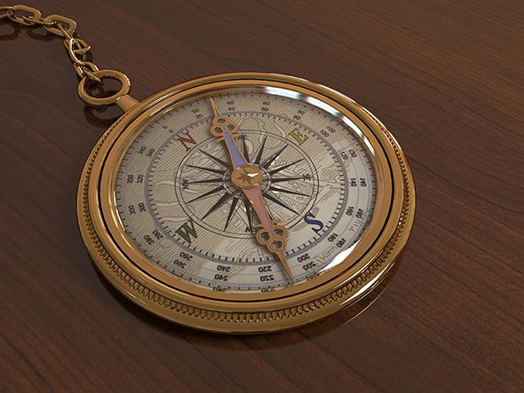 3DOcean Compass 21099099