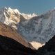 Mountains in Himalayas, Nepal, on the Hiking Trail Leading To the Everest Base Camp. - VideoHive Item for Sale