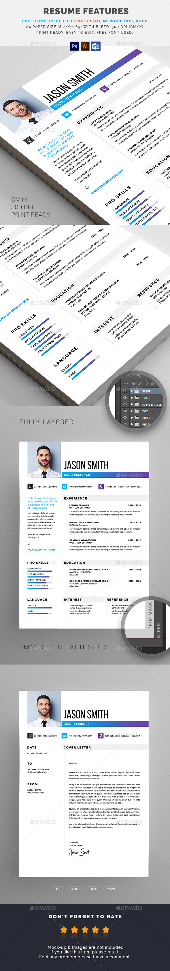 GraphicRiver Resume 21099206
