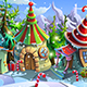 Christmas Village - GraphicRiver Item for Sale