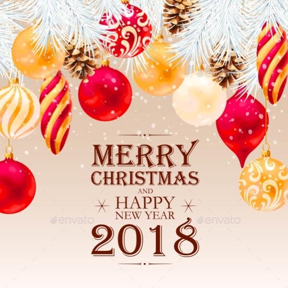 GraphicRiver Merry Christmas Greeting Postcard 21099292