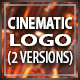 Cinematic Crystal Logo Reveal - VideoHive Item for Sale