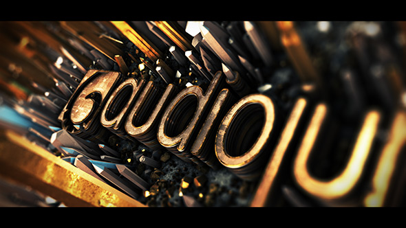 Videohive Cinematic Crystal Logo Reveal 21019282