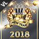 New Year Party Poster / Flyer V20 - GraphicRiver Item for Sale