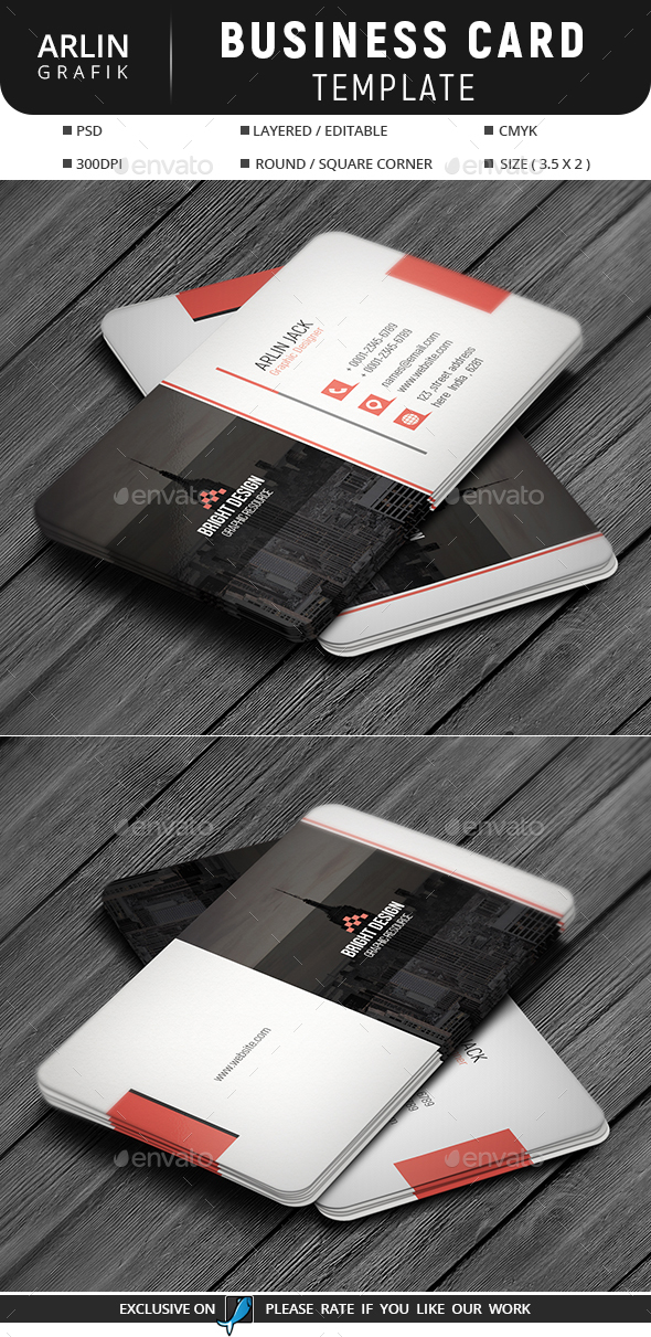 GraphicRiver Business Card Template 21099656
