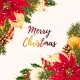 Merry Christmas Greeting Postcard - GraphicRiver Item for Sale