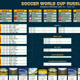 Soccer World Cup Russia 2018 Schedule - GraphicRiver Item for Sale