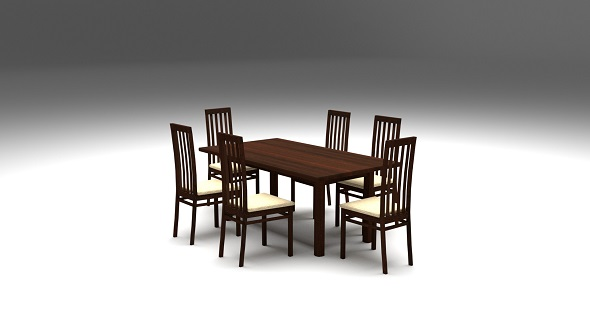 3DOcean Dining Table 21091122