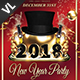 New Year Party Poster / Flyer V21 - GraphicRiver Item for Sale