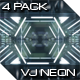 VJ Neon Lights Vol.2 - 4 Pack - VideoHive Item for Sale