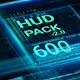 HUD Pack v2.0  - 600 elements - - VideoHive Item for Sale