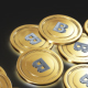 Bitcoins With Transparent Background - VideoHive Item for Sale