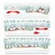 Three Holiday Christmas Banners. Vector - GraphicRiver Item for Sale
