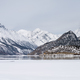 snow mountain and ice lake in winter - PhotoDune Item for Sale