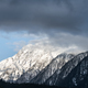 snow capped mountain and misty clouds - PhotoDune Item for Sale