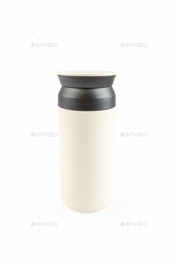vacuum coffee cup isolated - Stock Photo - Images
