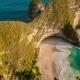 Aerial  View of Kelingking Beach in Nusa Penida Island, Indonesia - VideoHive Item for Sale