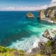 View From the Cliff To White Atuh Beach at Nusa Penida Island, Bali, Indonesia - VideoHive Item for Sale