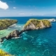 Stunning Natural Beauty and a Unique Shape of the Beach Atuh, Nusa Penida, Indonesia - VideoHive Item for Sale