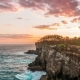 Sunset Near Broken Beach at Nusa Penida Island, Indonesia - VideoHive Item for Sale