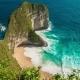 Aerial  Kelingking Beach at Nusa Penida Island, Indonesia - VideoHive Item for Sale