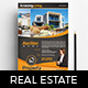 A4 Real Estate Poster Template