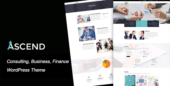Ascend - Consulting & Finance WordPress Theme - Business Corporate
