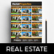 Real Estate Poster / Property Listing Sheet