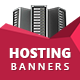 Stylish Hosting Banners - HTML5 Animated Ad Templates GWD