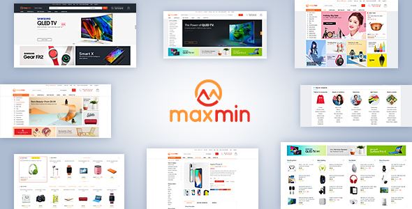 ThemeForest Maxmin Supermarket eCommerce PSD Template 20756220
